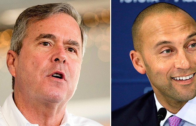 Derek Jeter y Jeb Bush buscan la compra de los Marlins
