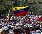 Venezolanos continuan en la calle para exigir elecciones libres y generales