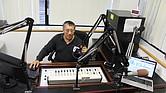 """Marco Antonio Vásquez Souza en su programa """"Radio Fabulosa"""" de la 1300AM"""