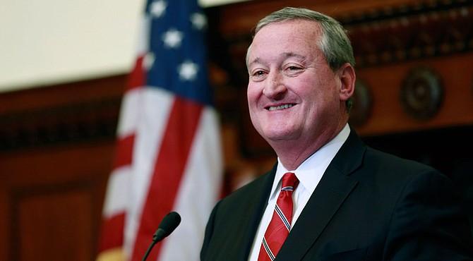 El alcalde de Filadelfia, Jim Kenney