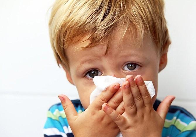Rinitis alérgica, mas prevalente en niños