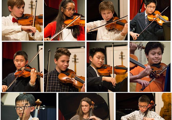 Estudiantes locales fueron seleccionados para participar en un festival de música en Los Angeles