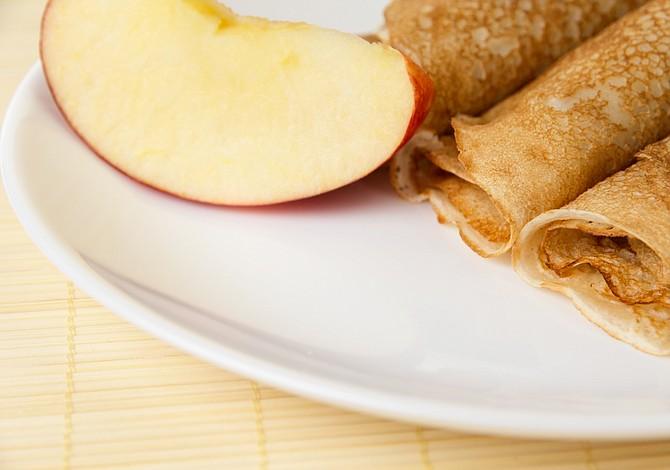 Receta para el Día de las Madres: Panquecas de manzana