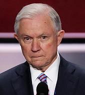 El fiscal general Jeff Sessions