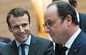 El presidente Hollande le da su apoyo a Macron