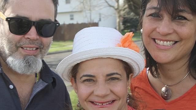 MÚSICOS. Pavel Urkiza, Suzzette Ortiz y Diana Sáez.