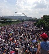 No hubo grandes inconvenientes en El Plantazo convocado por la oposición