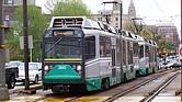 La rama B de la Línea Verde es conocida como la más lenta de todas, por la cantidad de paradas que hace el tren sobre la Commonwealth Ave.