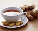 El té de jengibre es uno de los remedios caseros para la gripe