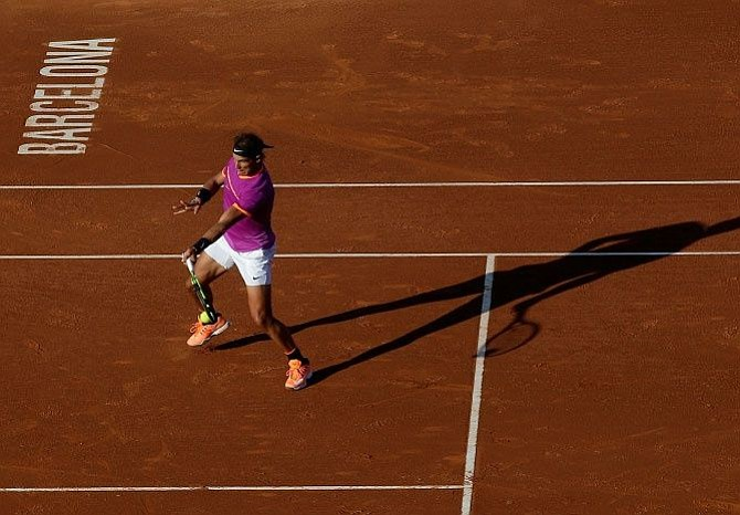 Nadal pasó a semifinales del Torneo de Barcelona