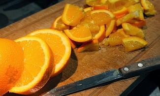 La naranja es un buen exfoliante