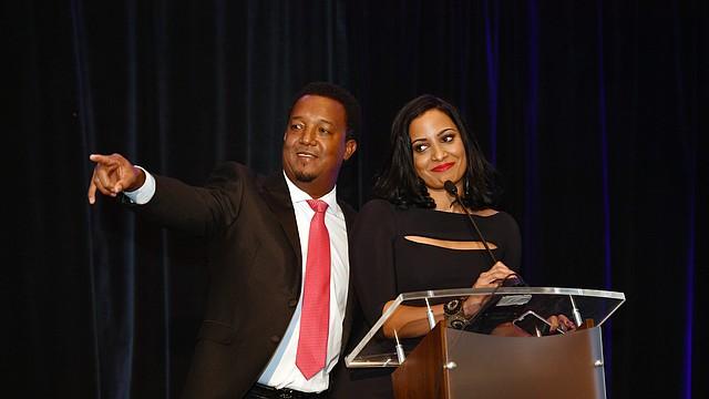 Pedro Martínez y su esposa Carolina, estarán en el evento Feast with 45 a beneficio de la Fundación Pedro Martinez.