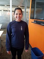 Karen Centeno, mexicana de 25 años, estudia una maestría en la Escuela de Teología de Boston University