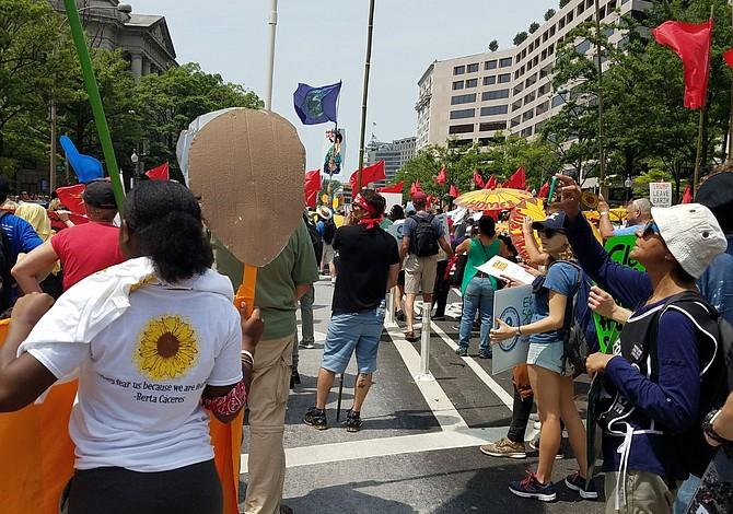 Comitiva de Chelsea viajó a Washington DC para la marcha por el cambio climático