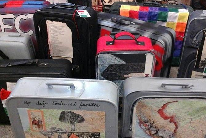 JAMAICA PLAIN: Cientos de maletas rendirán honor a los inmigrantes