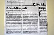 EDITORIAL. Comentario de El Tiempo Latino en su edición del 9 de mayo de 1997.