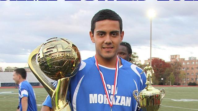 TALENTO LOCAL. El delantero Irvin Herrera nació en El Salvador, se crió en Washington y se formó futbolísticamente en las ligas locales del área.