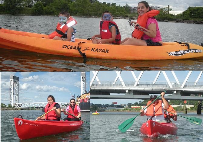 Convocan a la comunidad de East Boston a cruzar el río Mystic en kayak