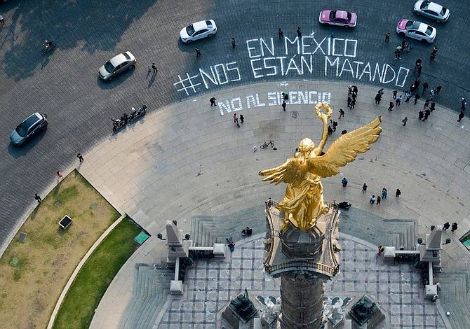 Journalists protest killings of media members in Mexico