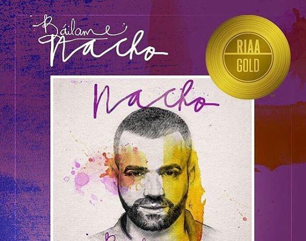 Báilame se convierte en single de oro en los Estados Unidos