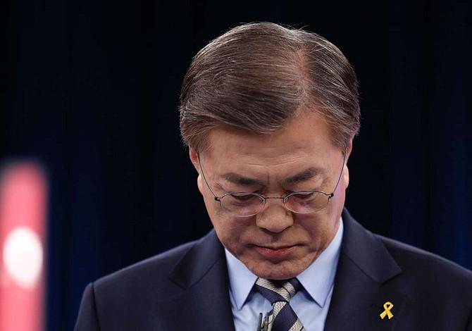 Moon admite posibilidad de un conflicto militar con Corea del Norte