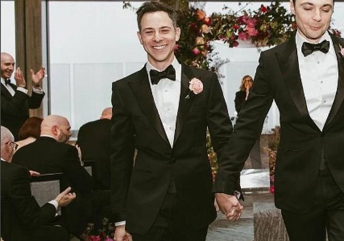 Protagonista de The Big Bang Theory se casó tras 14 años de relación