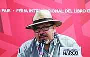 El periodista, Javier Valdez.