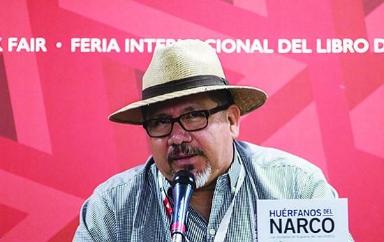 Javier Valdez, cortesía de la organización de defensa de reporteros Artículo 19.