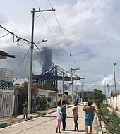 Hubo dos explosiones en los astilleros de Cartagena