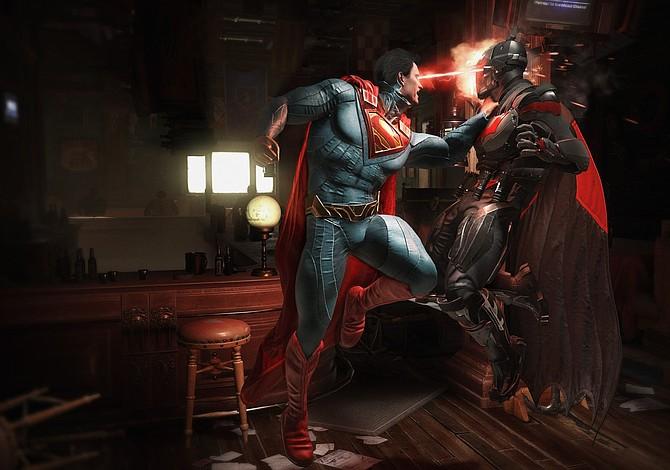 """Superhéroes icónicos y desconocidos se miden en """"Injustice 2"""""""