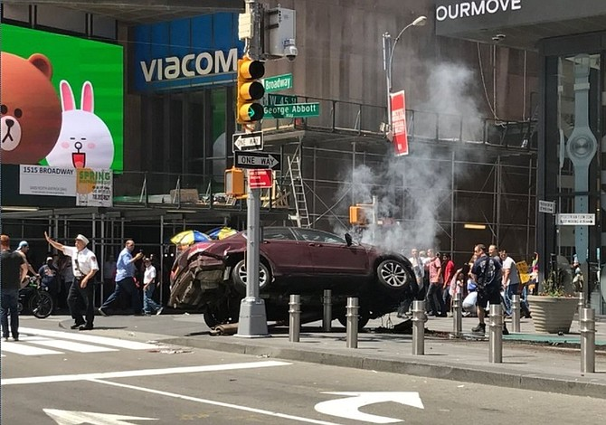 No evidence of terrorism in New York crash, mayor says