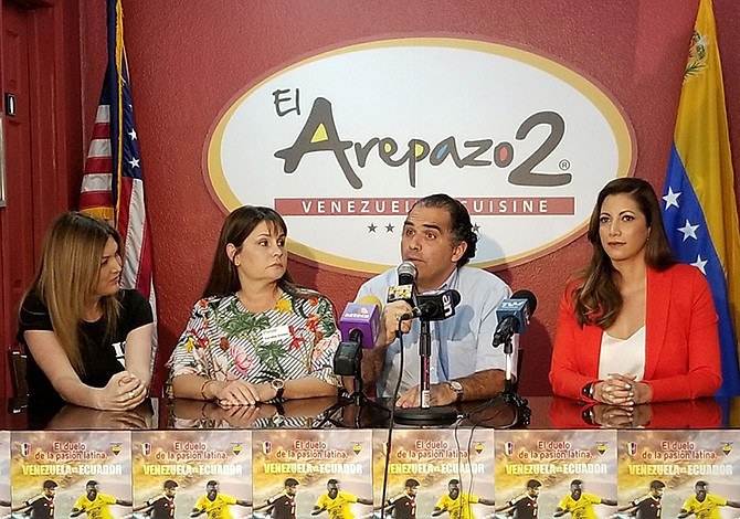 Amistoso en Miami:  Con Venezuela en los pies… y en la cabeza
