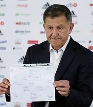 TÉCNICO. Juan Carlos Osorio, seleccionador nacional de México.