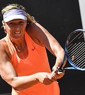 La tenista rusa; María Shaparova