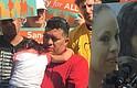 René Bermúdez se encuentra en una reunión de Fairfax, Virginia, para su esposa, Liliana Cruz Méndez, con su hija Danyca, de 4 años. Méndez, que entró ilegalmente en los Estados Unidos, fue detenido por ICE durante una reunión en Fairfax.