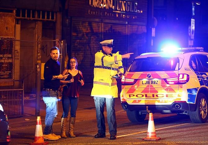 British police say 19 dead, 50 injured in Manchester 'terrorist incident'