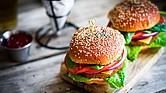 Las hamburguesas se han convertido en un plato típico estadounidense