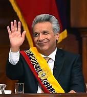 El nuevo presidente de Ecuador, Lenín Moreno