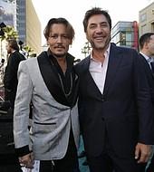 Jhonny Deep y Javier Bardem
