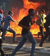 Las protestas en Brasilia fueron contenidas por la Fuerza Armada