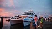Hy-Line Cruises fue fundada en 1962 por Richard y Robert Scudder, bajo el nombre de Hyannis Harbor Tours