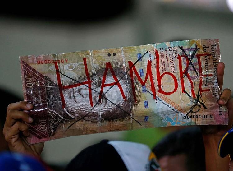 Inflación anualizada para Venezuela se sitúa en 24.571%