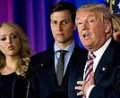 Jared Kushner junto a su suegro, el presidente Donald Trump