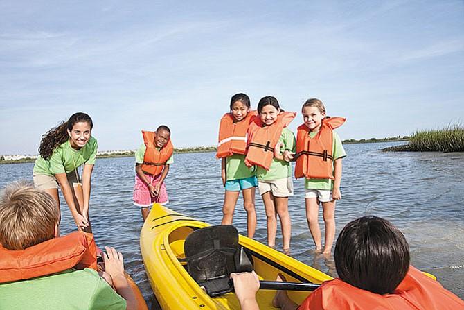 Aventuras y diversión  en la época de calor