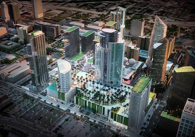Habrá una torre de 45 pisos en Miami Worldcenter