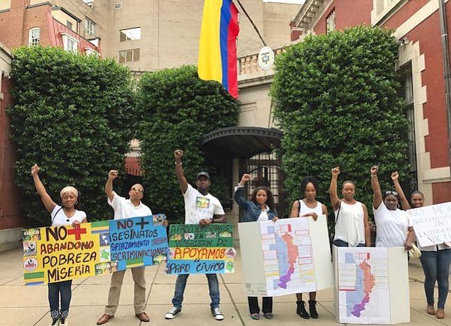 DC: Colombianos fieles a Buenaventura