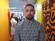 VOLUNTARIO. Jimmy Benavidez tiene 22 años y tiene un año como promotor voluntario del Centro Empodérate.