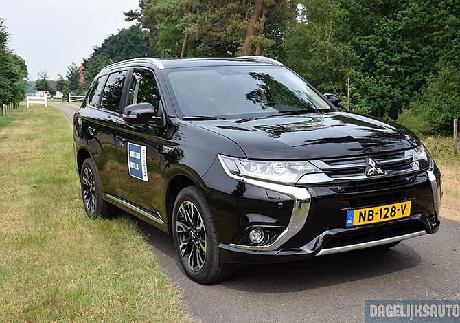 Mitsubishi entregó mayor pedido de híbridos enchufables
