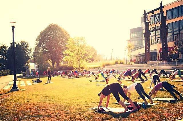 FITNESS: 10 series de ejercicio que ocurren todas las semanas en los parques de Boston