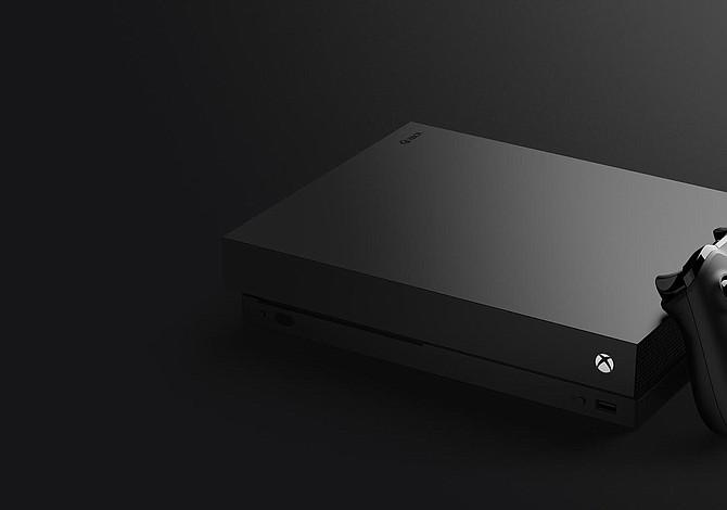 La nueva Xbox One X: La más potente hecha nunca